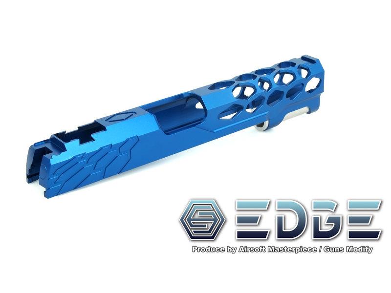 Airsoft Masterpiece AM EDGE SHIELD Standard HiCapa Slide BLU