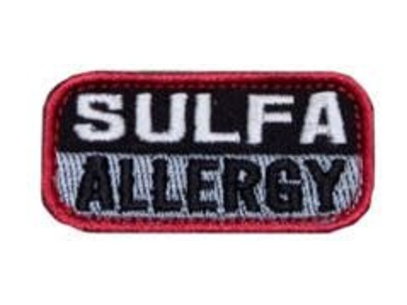 Milspec Monkey Medical Patch See Listing for Color Variations SULFA ALLERGY