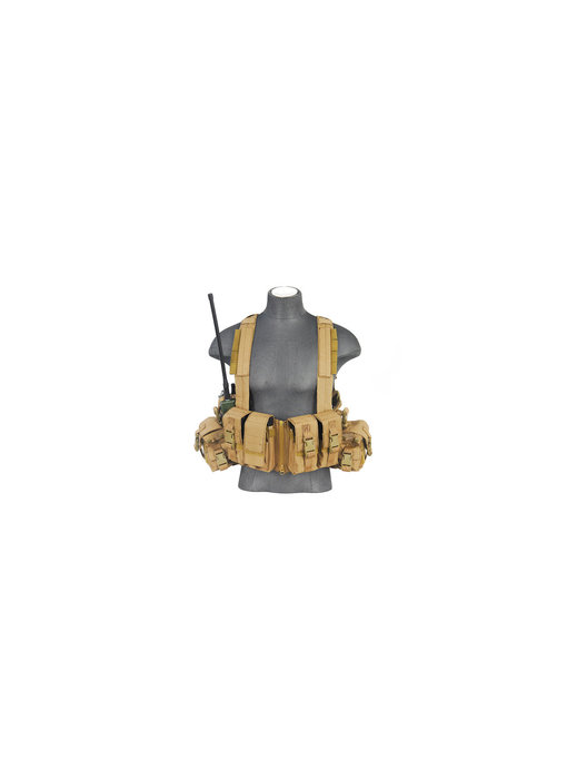 Lancer Tactical T1G Load Bearing Chest Rig w/ Zipper