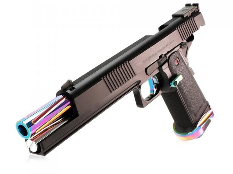 "Laylax Nine Ball Custom 7"" Hi Capa ""Rainbow Barrel"" Conversion Kit"