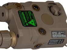 UK Arms UKARMS AN/PEQ15 Green Laser DE