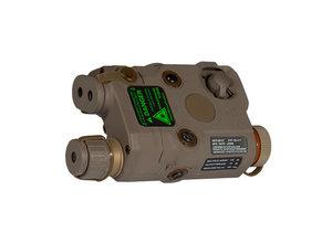 UK Arms UKARMS AN/PEQ15 Green Laser DE