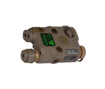 UKARMS AN/PEQ15 Green Laser DE