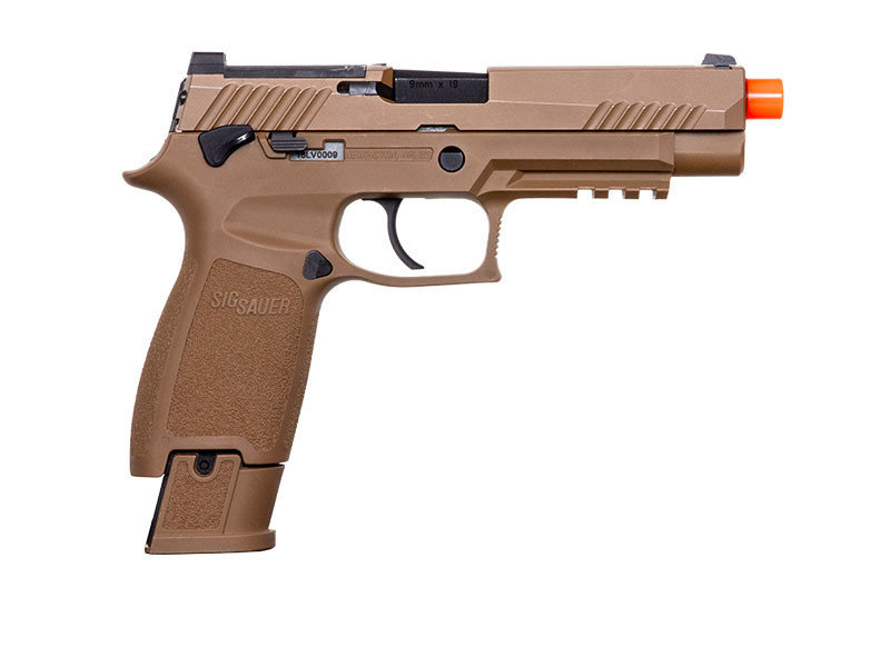Proforce SIG Sauer Proforce Series M17 Blowback Pistol Tan with CO2 Magazine