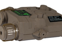 Lancer Tactical Lancer Tactical PEQ15 Green Laser LA-5 Case Dark Earth