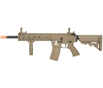 Lancer Tactical GEN2 M4 EVO Low FPS Nylon Polymer Rifle Tan