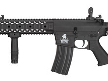 Lancer Tactical Lancer Tactical GEN2 M4 RIS EVO Nylon Polymer Rifle Black
