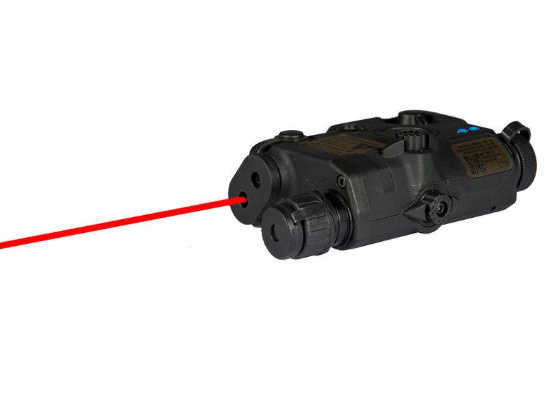 UK Arms UKARMS AN/PEQ15 LA5 LED/IR Red Laser BLK