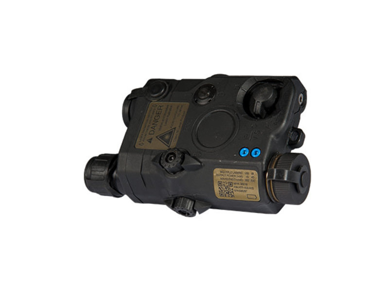 UK Arms UKARMS AN/PEQ15 LA5 LED/IR Red Laser Black