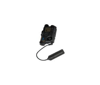 UKARMS AN/PEQ15 LA5 LED/IR Green Laser BLK
