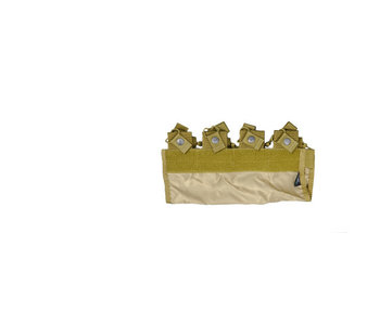 UKARMS 4 Pocket M4 Pouch for 6094, KHAKI
