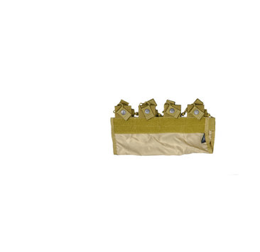 UK Arms UKARMS 4 Pocket M4 Pouch for 6094, KHAKI