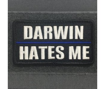 Tactical Outfitters Darwin Hates Me Thin Blue Line