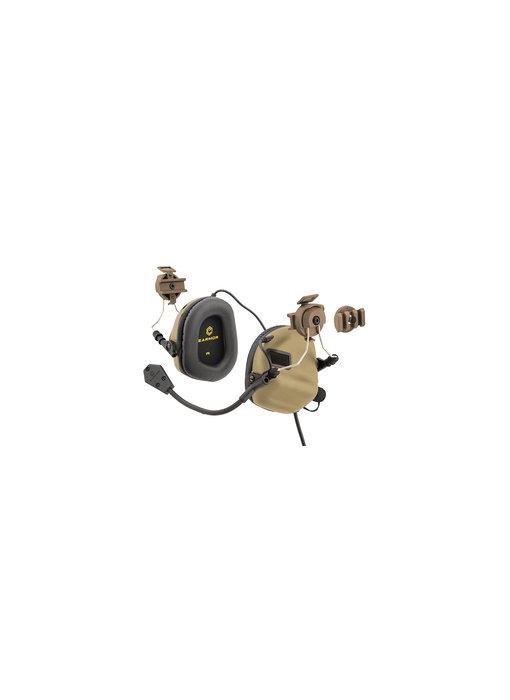 UKARMS Earmor M32H Helmet Electric Earmuffs Tan