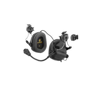 UKARMS Earmor M32H Helmet Electric Earmuffs Black