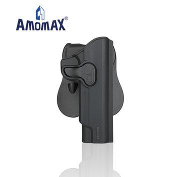 Amomax Amomax Hardshell holster for 1911 pistols, black, right hand