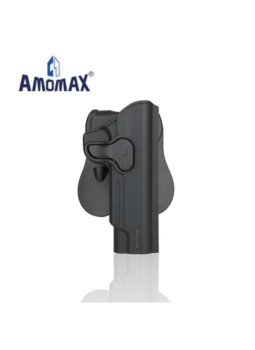 Amomax Hardshell holster for 1911 pistols, black, right hand