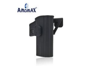 Amomax Amomax Hardshell holster for CZ P-09, black, right hand