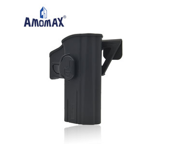 Amomax Hardshell holster for CZ P-09, black, right hand
