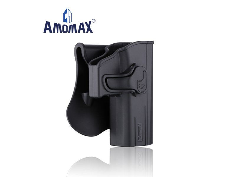 Amomax Amomax Hardshell holster for CZ P-09, black, right hand