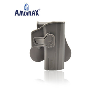 Amomax Hardshell Holster for CZ P-09, flat dark earth, right hand