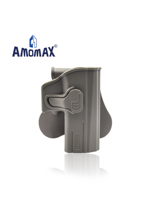 Amomax Hardshell Holster for CZ P-09, flat dark earth, right hand