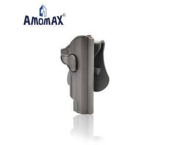 Amomax Hardshell holster for 1911 pistols, flat dark earth, right hand