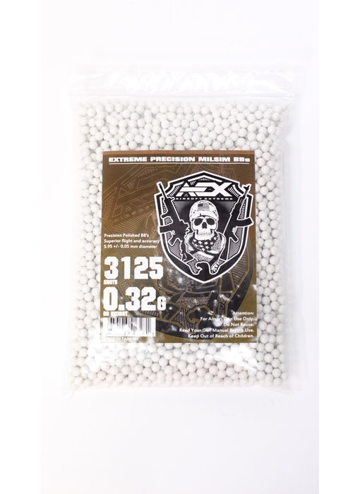 AEX 0.32g 3,125 round 6mm Airsoft BBs