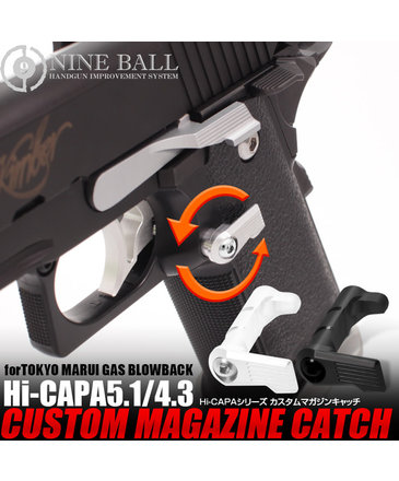 Nine Ball Nine Ball HI CAPA Custom Magazine Catch