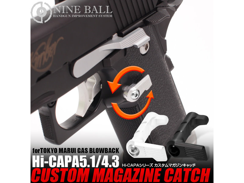 Nine Ball Nine Ball HI CAPA Custom Magazine Catch