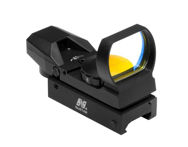 NcStar NC Star 4 Reticle Red Dot Sight Black