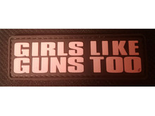 DDT DDT Girls Like Guns Morale Patch