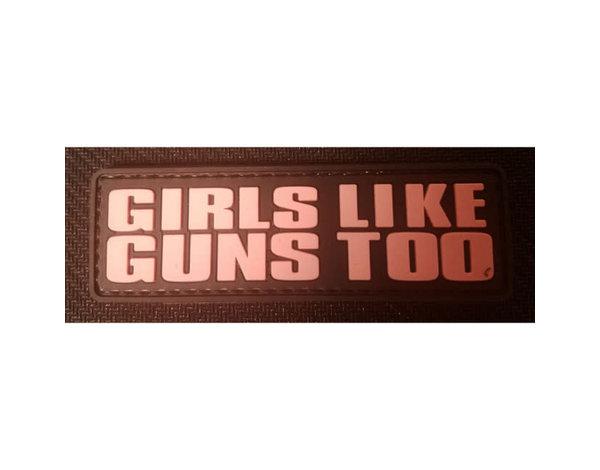 DDT DDT Girls Like Guns PVC Morale Patch
