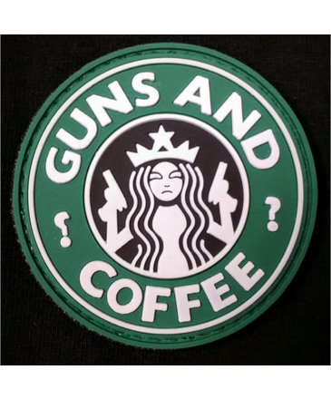 DDT DDT Guns and Coffee Morale Patch