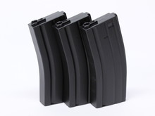 Airsoft Extreme AEX M4 130 rd Midcap Magazine 3-pack