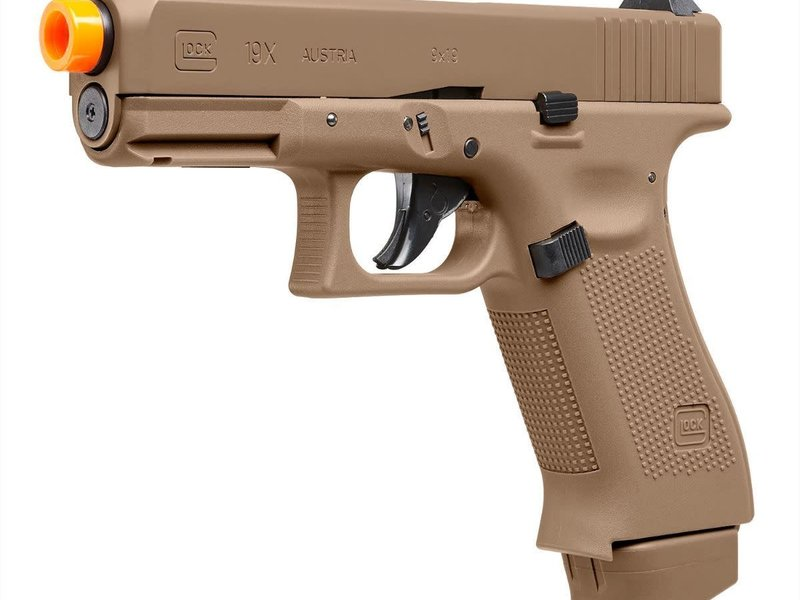 Elite Force Umarex Elite Force Glock G19x Half Blowback CO2 Pistol