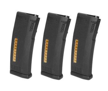 KWA MS120c Adjustable Mid-Cap Magazines, 3 Pack