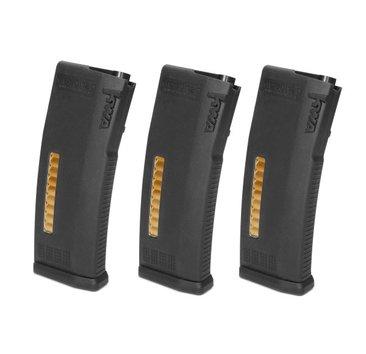 KWA KWA MS120c Adjustable Mid-Cap Magazines, 3 Pack
