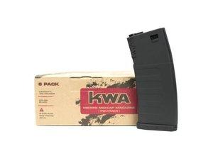 KWA KWA KM4 K120 Mid-Cap Magazine 6-Pack, Black