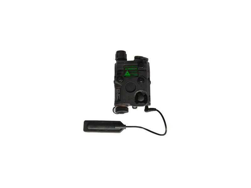 UK Arms UKARMS AN/PEQ15 LED/IR w/ Green Laser BLK