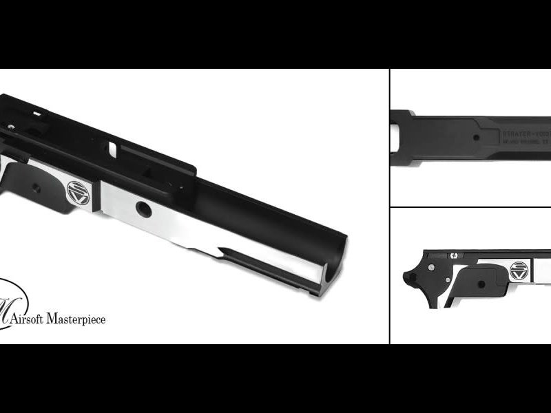 Airsoft Masterpiece Airsoft Masterpiece Aluminum Advanced Frame SV 3.9 w Rail 2TT