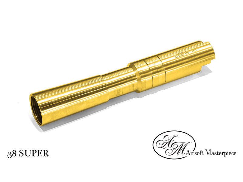 Airsoft Masterpiece Airsoft Masterpiece Super Fix Outer Barrel for Comp 4.3 Gold