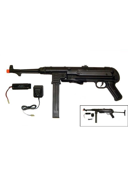 AGM MP40 electric rifle, full metal with battery and charger