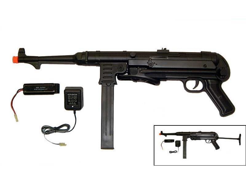 AGM AGM MP40 electric rifle, full metal with battery and charger