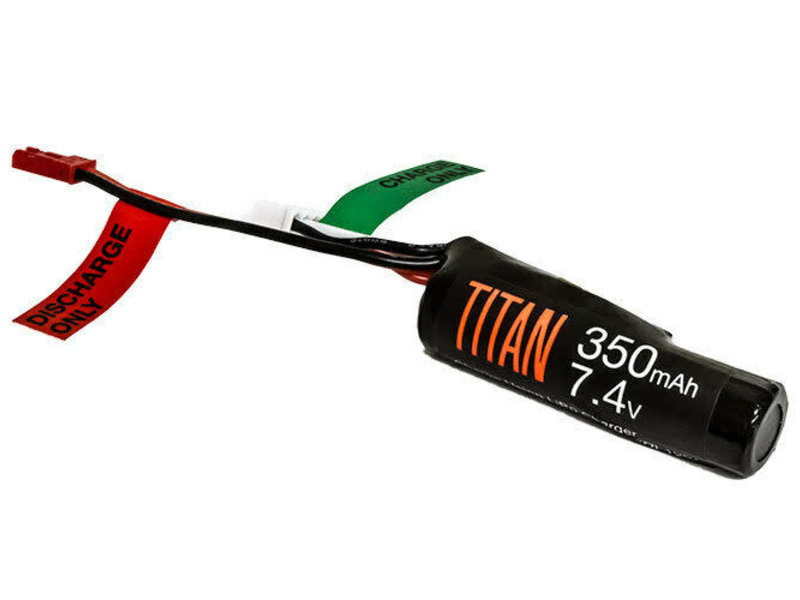 Titan Power Titan Power 3.7v 350mah Li-Ion Battery for HPA Conversions with JST Connector