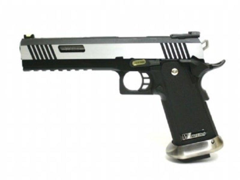 WE Tech WE-Tech Tactical I-Rex Hi-Capa 6.0 Two-Tone Slide Gas Blowback Airsoft Gun