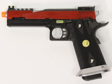WE Tech WE Hi-Capa 5.1 split slide Red GBB pistol