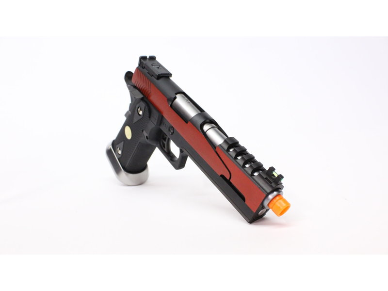 WE Tech WE-Tech Hi-Capa 5.1 split slide Red Gas Blowback Airsoft Pistol