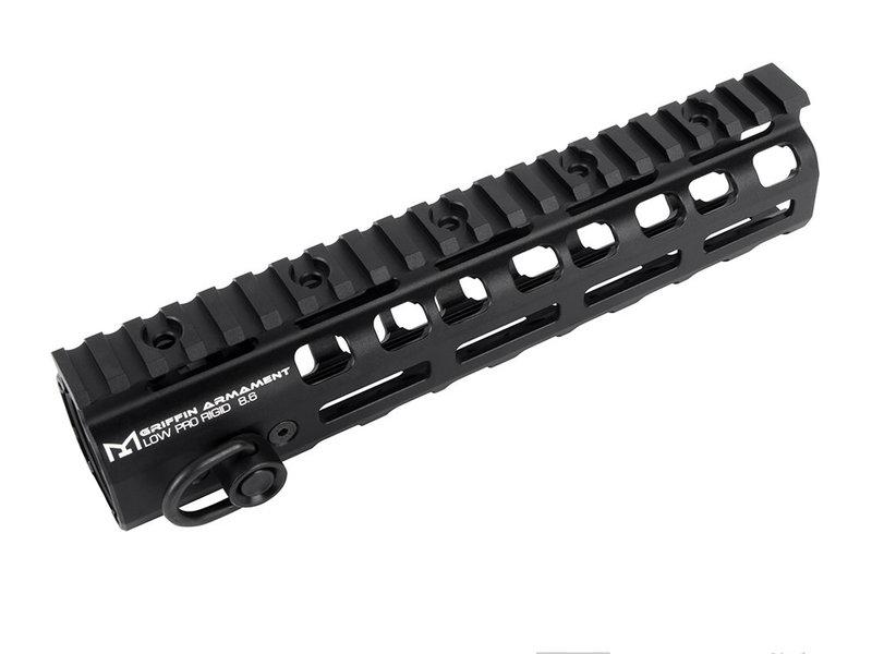 "PTS PTS Griffin Armament Low Pro RIGID M-LOK Rail 8.6"""
