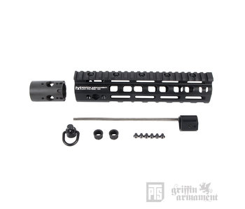 PTS Griffin Armament Low Pro RIGID M-LOK Rail 8.6""